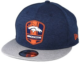 Denver Broncos 9Fifty On Field Navy/Grey Snapback - New Era