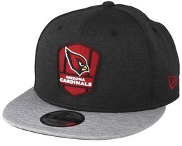 wholesale dealer ebc8a 145a3 Arizona Cardinals 9Fifty On Field Black Grey Snapback - New Era