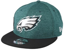 Philadelphia Eagles 9Fifty On Field Dark Teal/Black Snapback - New Era