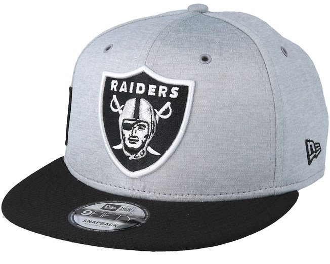 97bfb20dce9 Oakland Raiders 9Fifty On Field Grey Black Snapback - New Era caps -  Hatstoreworld.com