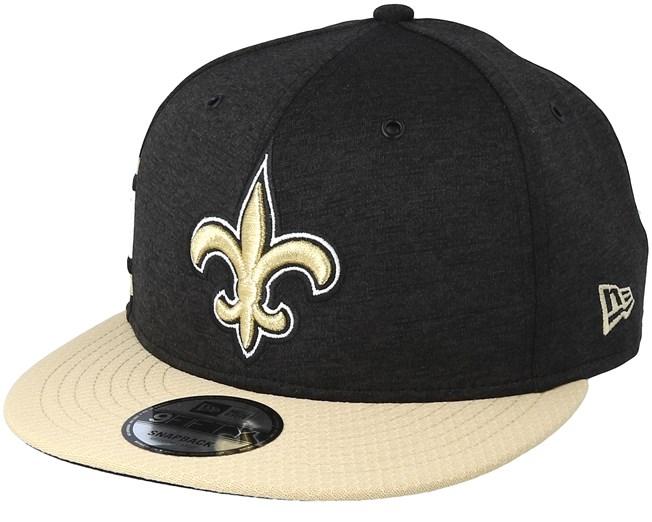 40f39a2bb11 New Orleans Saints 9Fifty On Field Black Beige Snapback - New Era caps -  Hatstoreaustralia.com