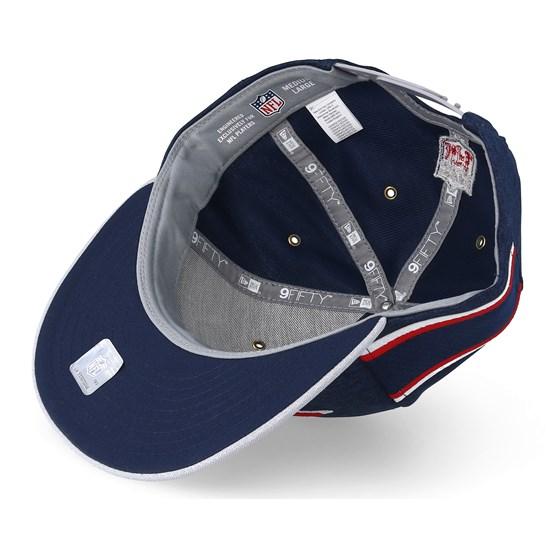 New England Patriots 9Fifty On Field Navy Grey Snapback - New Era caps -  Hatstoreworld.com a78e1e049