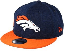 Denver Broncos 9Fifty On Field Navy/Orange Snapback - New Era