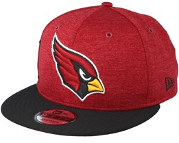 Arizona Cardinals On Field Red Black Snapback - New Era d6610440b