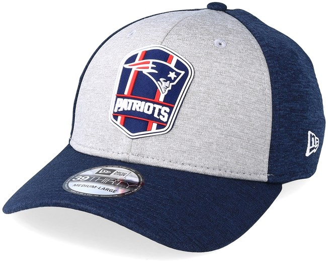 55d85532a6daa New England Patriots 39Thirty On Field 2 Navy Grey Flexfit - New Era caps -  Hatstoreaustralia.com