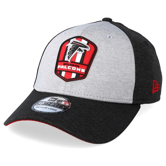 814052be9 Atlanta Falcons 39Thirty On Field Grey Black Flexfit - New Era caps -  Hatstoreaustralia.com