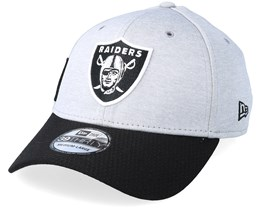 Oakland Raiders 39Thirty On Field 2 Grey/Black Flexfit - New Era