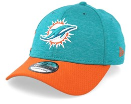 Miami Dolphins 39Thirty On Field Teal/Orange Flexfit - New Era