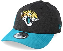 ffa8498f7fb Jacksonville Jaguars 39Thirty On Field Black Teal Flexfit - New Era