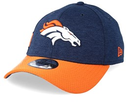 Denver Broncos 39Thirty On Field Navy/Orange Flexfit - New Era