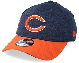 Chicago Bears 39Thirty On Field Navy/Orange Flexfit - New Era