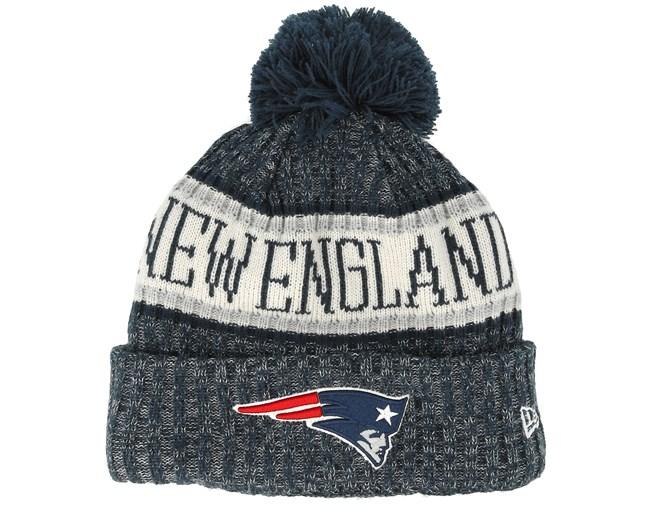 ba0a1d7538b New England Patriots Sport Knit Black Pom - New Era beanies -  Hatstoreaustralia.com
