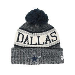 promo code dbfa9 08733 New Era Dallas Cowboys Sport Knit Navy Pom - New Era CA  42.99