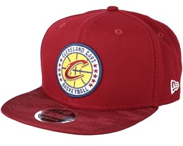 Cleveland Cavaliers Tipoff Series 9Fifty Burgundy Snapback - New Era