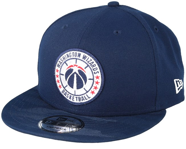 6a58d91f2875d Washington Wizards Tipoff Series 9Fifty Navy Snapback - New Era cap -  Hatstore.co.in