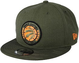 Toronto Raptors Tipoff Series 9Fifty Olive Snapback - New Era