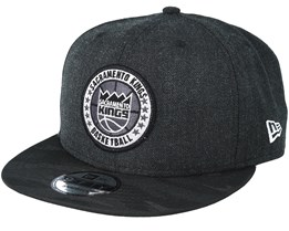 Sacramento Kings Tipoff Series 9Fifty Heather Black Snapback - New Era