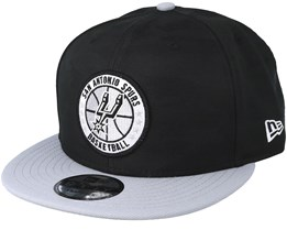 San Antonio Spurs Tipoff Series 9Fifty Camo Black Snapback - New Era