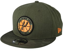 San Antonio Spurs Tipoff Series 9Fifty Olive Snapback - New Era