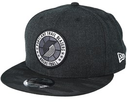 Portland Trail Blazers Tipoff Series 9Fifty Heather Black Snapback - New Era