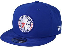 Philadelphia 76ers Tipoff Series 9Fifty Blue Snapback - New Era