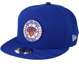 New York Knicks Tipoff Series 9Fifty Blue Snapback - New Era