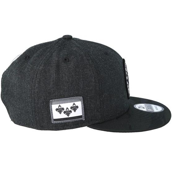 online retailer 42aff 48ccc New Orleans Pelicans Tipoff Series 9Fifty Heather Black Snapback - New Era  caps - Hatstoreworld.com
