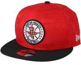 outlet store cca76 755a7 Houston Rockets Tipoff Series 9Fifty Camo Red Snapback - New Era