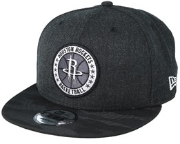 Houston Rockets Tipoff Series 9Fifty Heather Black Snapback - New Era