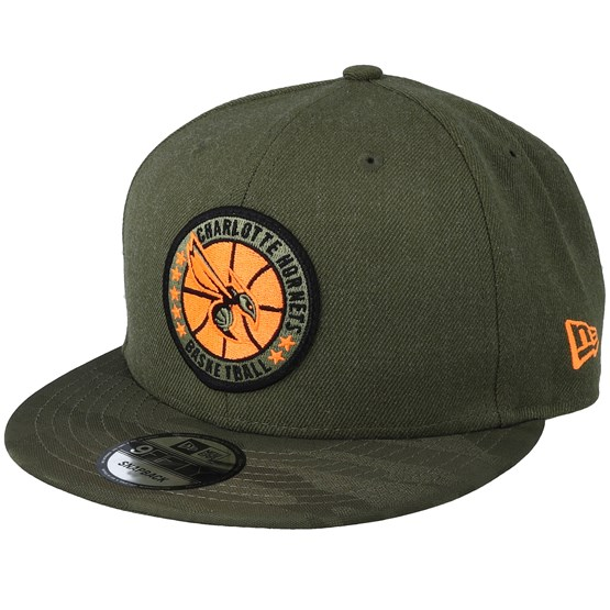 Charlotte Hornets Tipoff Series 9Fifty Olive Snapback - New Era - Start Boné  - Hatstore d23dbe07975