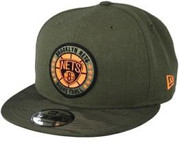 Brooklyn Nets Tipoff Series 9Fifty Olive Snapback - New Era