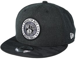 Brooklyn Nets Tipoff Series 9Fifty Heather Black Snapback - New Era