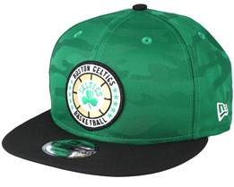 Boston Celtics Tipoff Series 9Fifty Camo Green Snapback - New Era