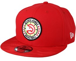 Atlanta Hawks Tipoff Series 9Fifty Red Snapback - New Era