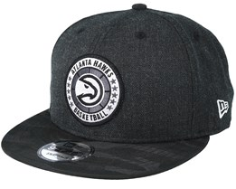 Atlanta Hawks Tipoff Series 9Fifty Heather Black Snapback - New Era