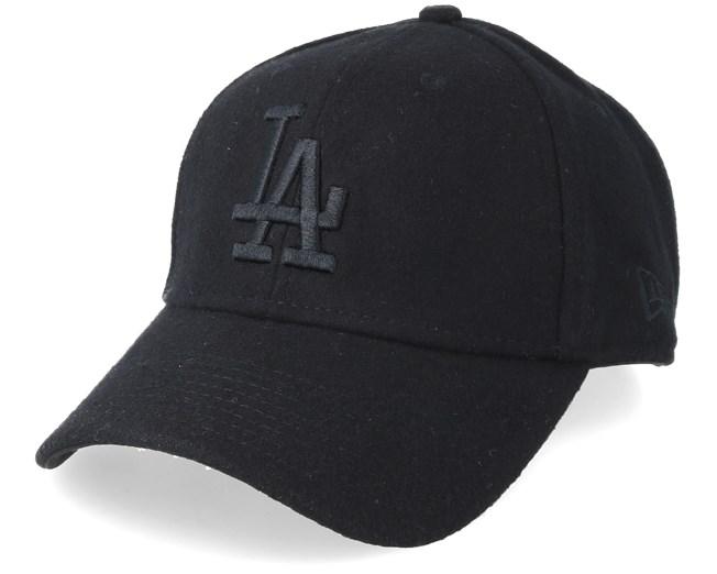 d7d9f623dd791e Los Angeles Dodgers Winter Utility Melton 9Forty Black/Black Adjustable - New  Era caps - Hatstoreaustralia.com