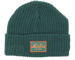 Winter Utility Short/Long Dark Green Beanie - New Era