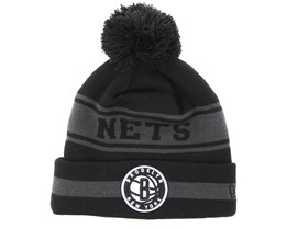 Brooklyn Nets Team Jake Black/Grey Pom - New Era