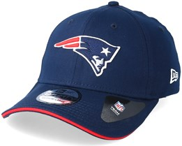 5fd79d4b268 New England Patriots Team 39Thirty Navy Flexfit - New Era