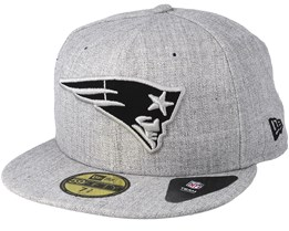 New England Patriots 59Fifty Heather Grey Fitted - New Era