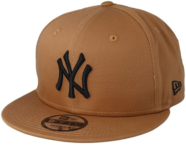 new arrivals 6a71e a1ce9 New York Yankees League Essential 9Fifty Camel Black Snapback - New Era  caps - Hatstorecanada.com
