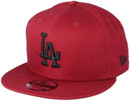 Los Angeles Dodgers League Essential 9Fifty Burgundy/Black Snapback - New Era