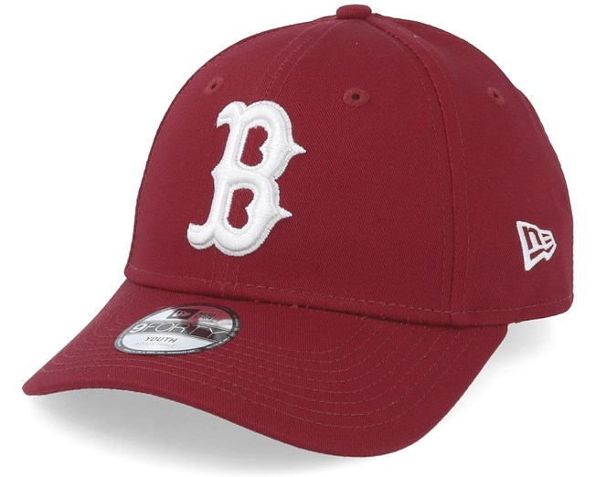 competitive price 5ef59 584bb Kids Boston Red Sox League Essential 9Forty Cardinal White ...