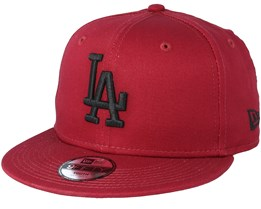 Kids Los Angeles Dodgers League Essential 9Fifty Cardinal/Black Snapback - New Era