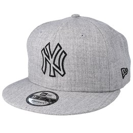 new products 37a60 d797b New Era New York Yankees 9Fifty Essential Heather Grey Snapback - New Era  £39.99