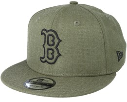 Boston Red Sox 9Fifty Essential Heather Green Snapback - New Era