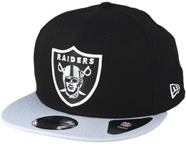 Oakland Raiders Contrast Team 9Fifty Black/Grey Snapback - New Era