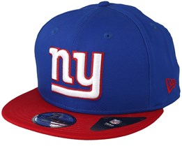 New York Giants Contrast Team 9Fifty Blue/White/Red Snapback - New Era