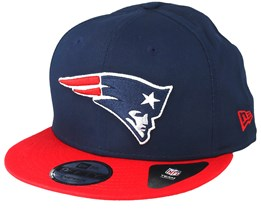 New England Patriots Contrast Team 9Fifty Blue/Red Snapback - New Era
