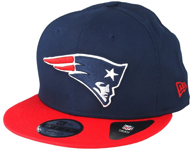 cheapest price recognized brands limited guantity New England Patriots Contrast Team 9Fifty Blue/Red Snapback - New ...